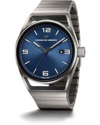 Porsche Design 1919 Datetimer Eternity Blue - Blau