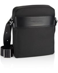 Porsche Design Metropolitan M Shoulder Bag - Schwarz
