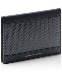 Porsche Design Carbon Passport Holder - Schwarz