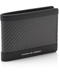 Porsche Design Carbon Wallet H6 - Schwarz