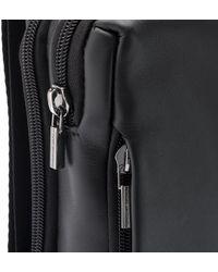 Porsche Design Shyrt 2.0 SVZ Leather Shoulder Bag - Schwarz