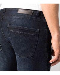 Porsche Design PD Logo Denim Pants - Blau