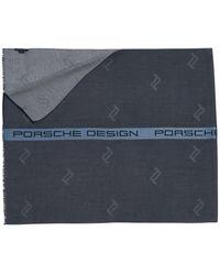 Porsche Design Premium Business Scarf - Blau