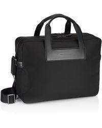 Porsche Design Metropolitan Brief Bag L - Schwarz