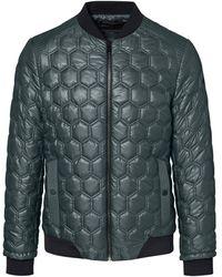 Porsche Design Hexagon Quilted Jacket - Grün