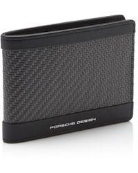 Porsche Design Carbon H6 Wallet - Schwarz