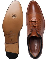 Porsche Design Business Casual GY Nappa Lace Up Moccasin - Braun