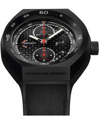Porsche Design MONOBLOC ACT Chronotimer Flyback Limited Edition - Schwarz