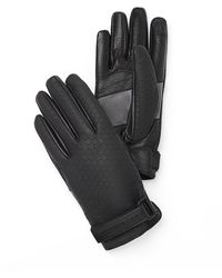 Porsche Design Structured Titan Gloves - Schwarz