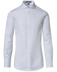 Porsche Design Slim Fit Business Shirt - Weiß