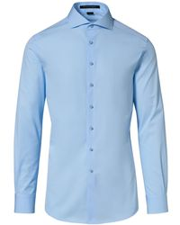 Porsche Design Business Shirt Slim Fit - Blau