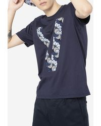 PortsV Patch V Front T-shirt - Blue