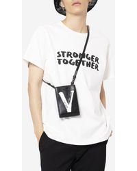PortsV Stronger Together Painted T-shirt - White