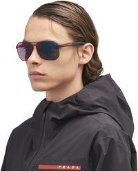 Prada - Linea Rossa Eyewear Collection Sunglasses - Lyst