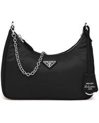 Prada Re-edition 2005 Nylon Bag - Black