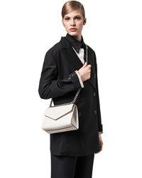 Prada - Monochrome Saffiano Leather Bag - Lyst