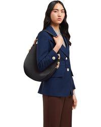 Prada Raffia Details Shoulder Bag - Black