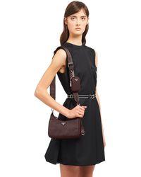 Prada Re-edition 2005 Nylon Shoulder Bag - Brown