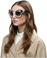 Prada - Minimal-baroque Eyewear - Lyst