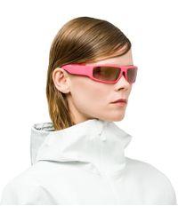 7e6bab5ae0 Lyst - Fendi Runway Cat-eye Sunglasses in White