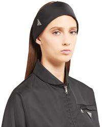 Prada Re-nylon Headband - Black