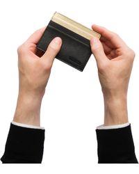 ba687943425c Prada Malia Saffiano Leather Card Holder for Men - Lyst