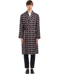 Prada Silk Twill Robe - Multicolor