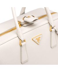 Prada Leather Suitcase - Multicolor