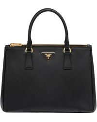 Prada - Medium Galleria Saffiano Leather Bag - Lyst