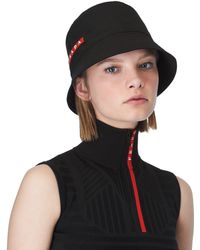 Prada - Technical Fabric Cap - Lyst