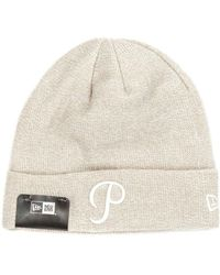 9b6653a38 Champion Green Reverse Weave Beanie for Men - Lyst