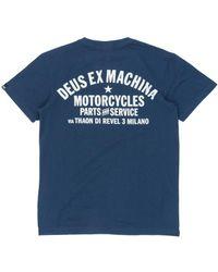 Deus Ex Machina - Milano Address T-shirt - Lyst