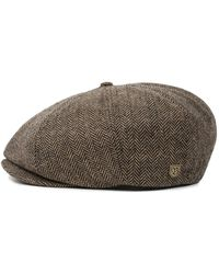 Brixton Brood Snap Cap - Brown