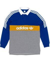 adidas - Heritage Polo Shirt - Lyst