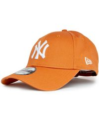 KTZ League Essential New York Yankees 9forty Cap - Brown