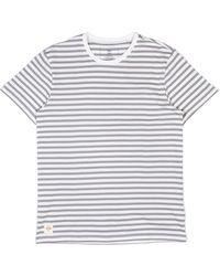Globe Horizon Striped T-shirt - White