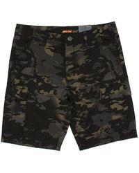 Santa Cruz Defeat Walk Shorts - Black