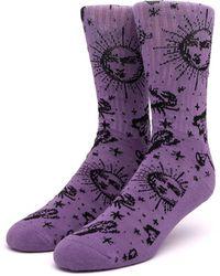 Huf Zodiac Socks - Purple