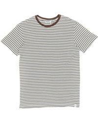 Rhythm - Everyday Stripe T-shirt - Lyst