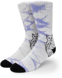 RIPNDIP Lord Nermal Socks - White