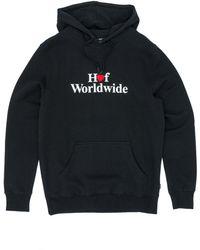 Huf Love Pullover Hooded Sweatshirt - Black