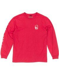 Brixton - Chill Long Sleeve T-shirt - Lyst