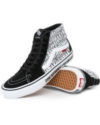 Vans X Baker Sk8-hi Pro Shoes - White