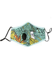 RIPNDIP Nermal Leaf Ventilator Face Mask - Green