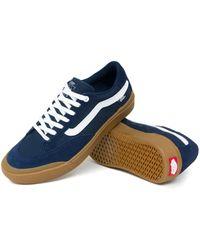 Vans Berle Pro Skateboard Shoes - Blue