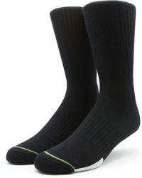 Globe Low Impact Crew Socks 3 Pack - Black