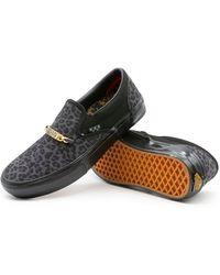 Vans Skate Slip-on Pro X Cher Strauberry Shoes - Black