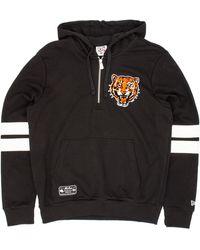 KTZ Cooperstown Detroit Tigers Hooded Sweat - Black