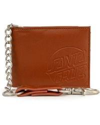 Santa Cruz Opus Dot Chain Wallet - Brown