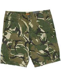 Santa Cruz Defeat Walk Shorts - Green